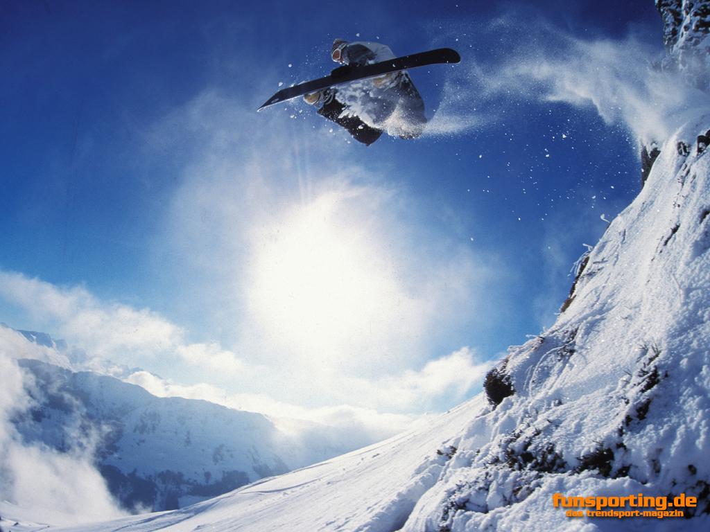 Trendsport wallpaper snowboarder