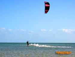 Wallpaper Kite-Surfen