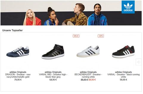 adidas schuhkollektion