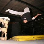 Parkour-Workshop in Berlin.  Foto: Veranstalter
