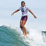 Jennifer Smith beim Roxy Jam.  Foto: Aquashot