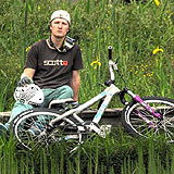 Mountainbiker Andreas Tillmann.  Foto: Privat