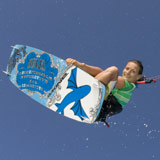 Termine der KB4Girls 2010 World Tour Kite-Boarding stehen fest Foto. Jessica Shell