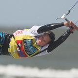 Kitesurf World Cup 2010 in St.Peter Ording.  Foto: Hoch Zwei