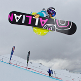 Miwa Halfpipe Qualification Burton NZ Open.  Foto: Pablo Azocar