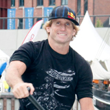 SUP World Cup Hamburg 2009 Robby Naish.  Foto: Hoch Zwei