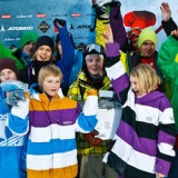 Foto: The North Face Ski Challenge.  Foto: The North Face Ski Challenge