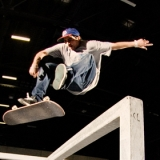 Skateboard Action auf der Passion Sports Convention.  Foto: Fotolia