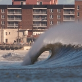 Der Schauplatz des Quicksilver Pro New York: Long Island.  Foto: mike nelson /  unsound surf