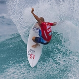 Kelly Slater beim Taj Burrow to win the 2011 Quiksilver Pro Gold Coast 2011.  Foto: ASP/ Kirstin