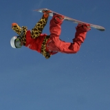 Shaun White in Action.  Foto: FIS/Oliver Kraus