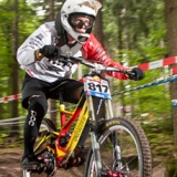 Jaques Bouvet beim iXS German Downhill Cup 2012 in Bad Wildbad.  Foto: Thomas Dietze