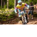 Marcus Klausmann beim iXS German Downhill Cup 2012 in Bad Wildbad.  Foto: Thomas Dietze
