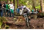 Nicole Beege beim iXS German Downhill Cup 2012 in Bad Wildbad.  Foto: Thomas Dietze