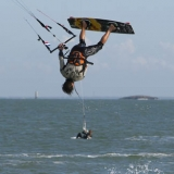Kitesurf Tour Europe France.  Foto: Julien Gazeau
