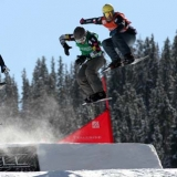 FIS Snowboardcross World Cup Telluride.  Foto: Oliver Kraus