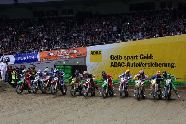 Supercross Dortmund 2013. Foto: Jan Brucke