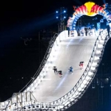 Crashed Ice Saint Paul 2013.  Foto: Garth Milan/Red Bull Content Pool