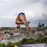 Red Bull Cliff Diving World Series La Rochelle 2013.  Foto: Vincent Curutchet/Red Bull Content Pool