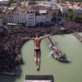 Red Bull Cliff Diving Series La Rochelle 2013.  Foto: Romina Amato/Red Bull Content Pool