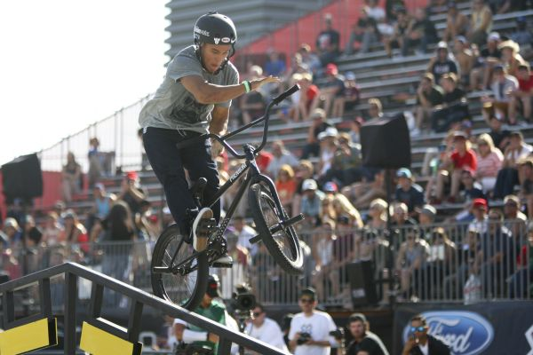 X Games Los Angeles: BMX Street. Foto: Gabriel Christus/ESPN Images