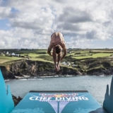 Red Bull Cliff Diving World Series Wales 2013.  Foto: Rudger Pauw/Red Bull Content Pool