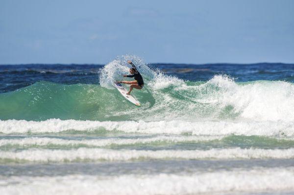 Carissa Moore beim Quiksilver Gold Coast Pro 2014. Foto: Trevor Moran/Red Bull Content Pool