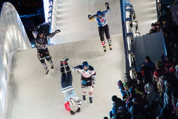 Red Bull Crashed Ice Quebec 2014. Foto: Joerg Mitter/Red Bull Content Pool