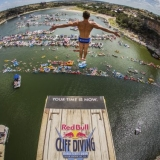 Red Bull Cliff Diving World Series 2014 Texas.  Foto: Romina Amato / Red Bull