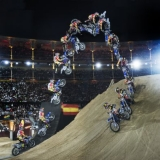 Double Backflip von Josh Sheehan.  Foto: Daniel Grund/Red Bull Content Pool