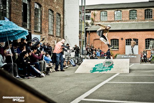 Surf&Skate Festival presented by Jever Fun. Hamburg 2014. Foto: Christoph Leib