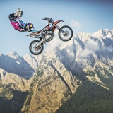 Luc Ackermann Red Bull X-Fighters Zugspitze.  Foto: Sebastian Marko_Red Bull Content Pool