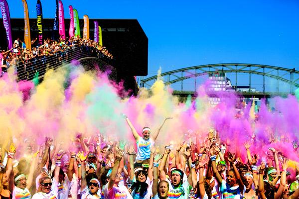 The Color Run erobert Deutschland. Foto: Veranstalter