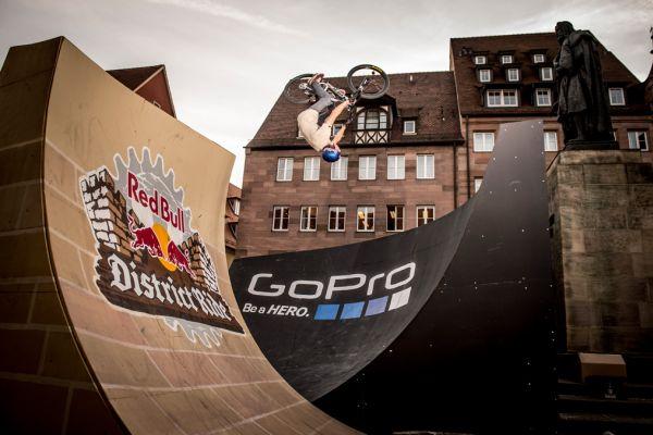 Red Bull District Ride Nürnberg 2014. Foto: Laue/Red Bull Content Pool